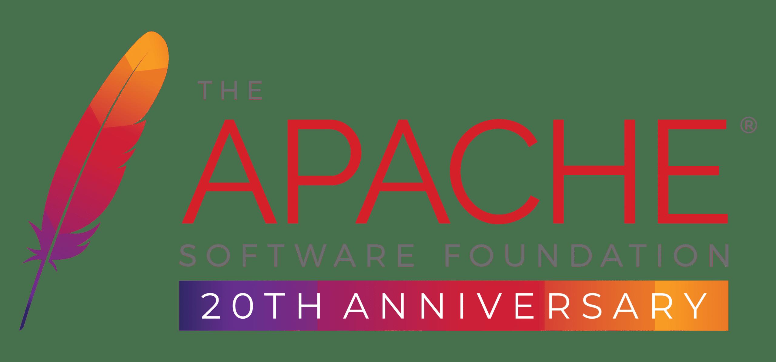APACHE-20th-logo